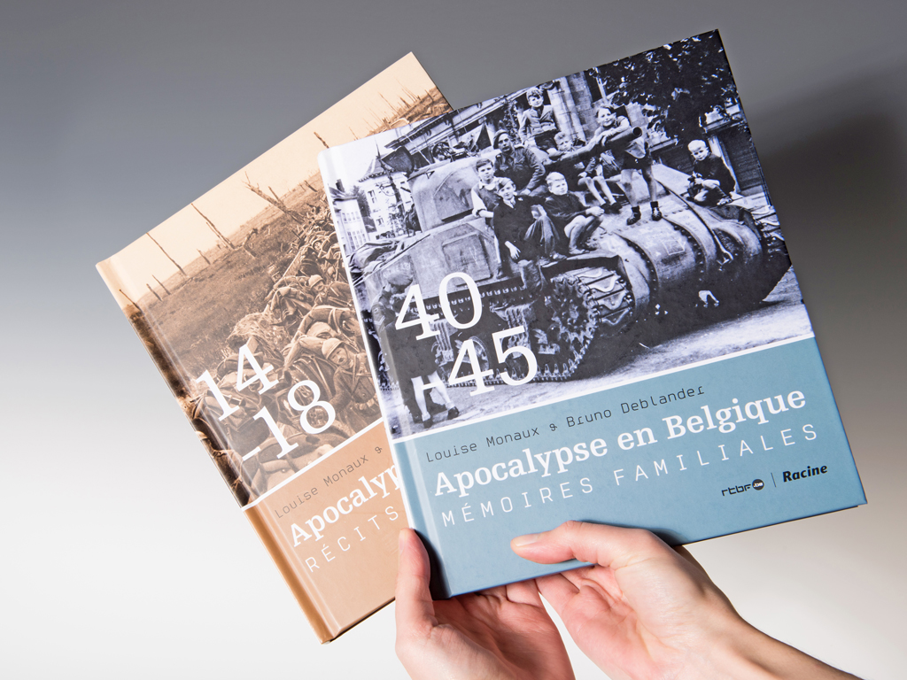 Apocalypse en Belgique 14-18-book design-Racine-Catherine Chronopoulou