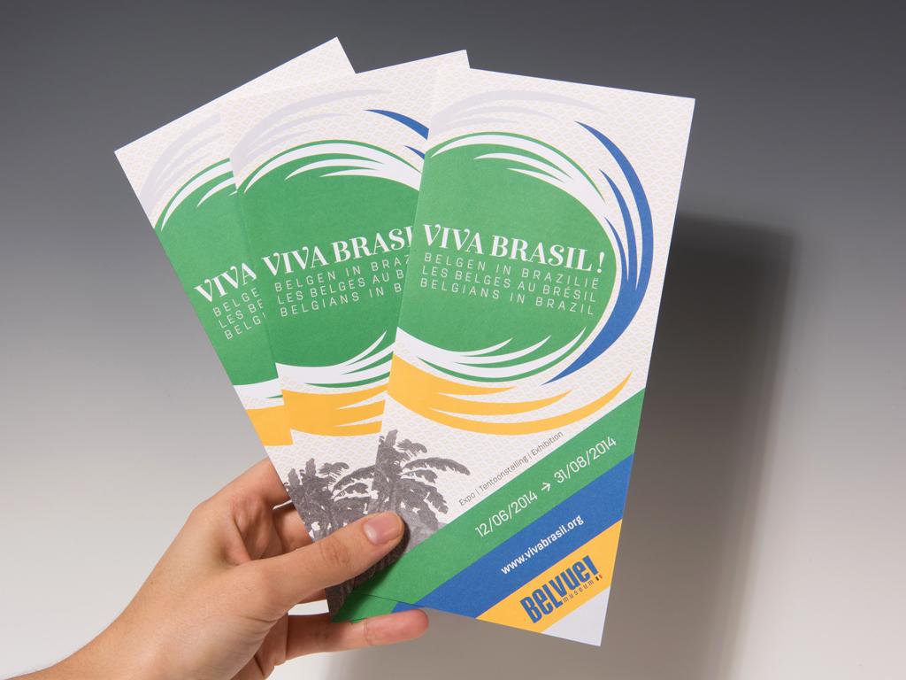 VivaBrazil_Belvue museum_exhibition design-flyer-Catherine Chronopoulou