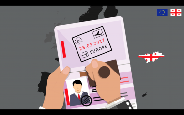 EEAS Georgia Visafree campaign